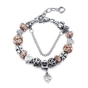 Jewelry - Charm Bracelet like Pandora Handmade Beads