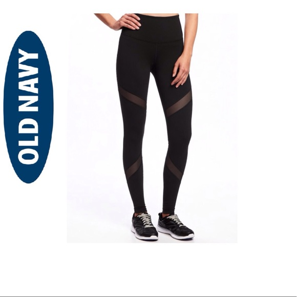 c007646713 Old Navy High-Rise Mesh-Panel Leggings for Women. M_59bef75999086a3617099130