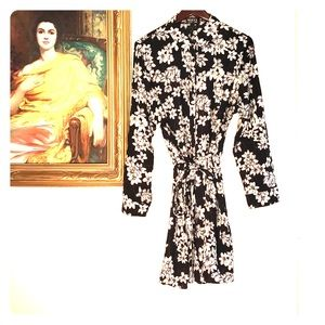 ASOS Floral Shirt Dress Club L