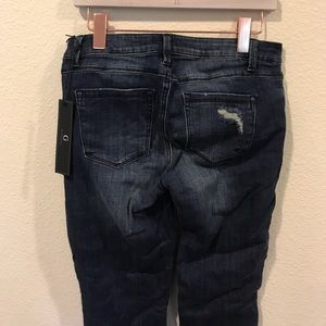 By Giuliana Jeans - NWT By Giuliani studded distressed slim jeans