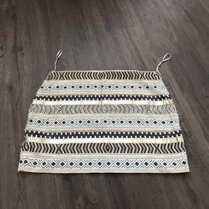 Zara beaded skirt