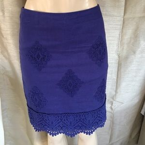 Gorgeous cotton fully lined skirt