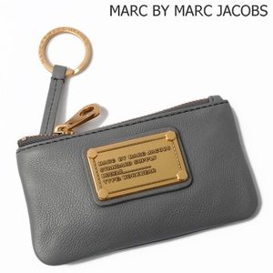 Marc By Marc Jacobs Classic Q Leather Key Pouch