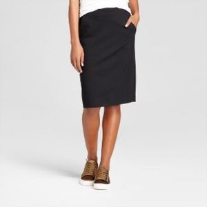 Merona stretch skirts with pockets