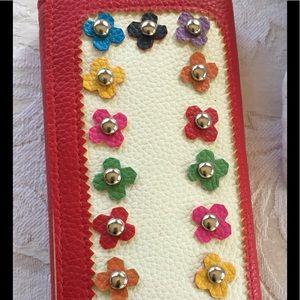 Handbags - Vegan Leather Red Wallet/Clutch 👛