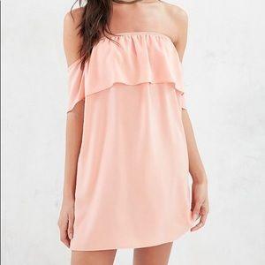 Cute babydoll off shoulder dress