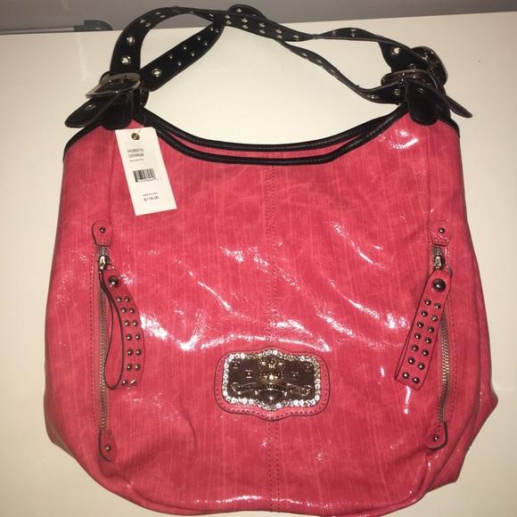 b935b2318c Kathy Van Zeeland faux leather tote