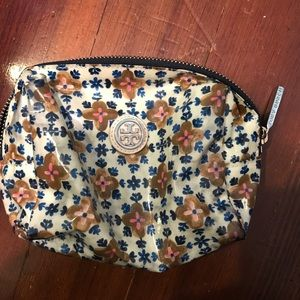 Tory burch small cosmetic bag
