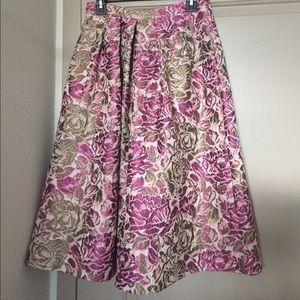 Floral printed ASOS midi skirt. NWT.