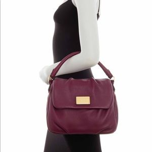 NEW! Marc Jacobs Classic Leather Shoulder Bag