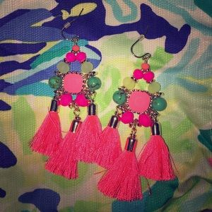 Tassel Earrings. Lilly Pulitzer (new)