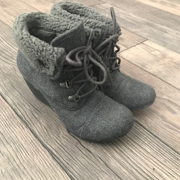 a4d59ede6ef9 Blowfish Shoes - Blowfish Grey Booties size 7.5