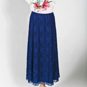 Lularoe Blue Lace Lucy Xl Bnwot Women's Clothing Clothing, Shoes & Accessories