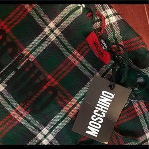 Moschino Accessories - NWT moschino plaid scarf