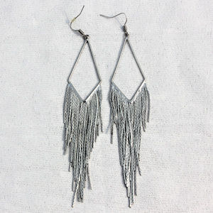 H&M Formal Metal Dangly Earlings
