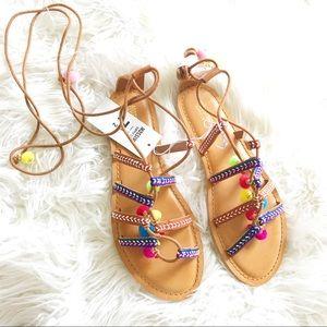 Mossimo kayla gladiator sandals