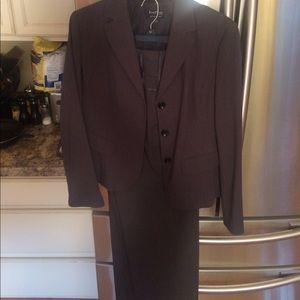 Women's gray suit
