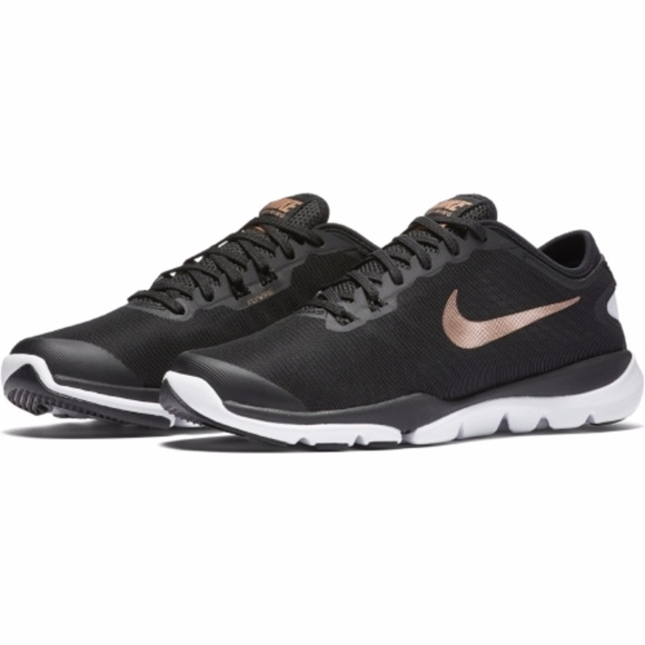3f21a6c043ce Women s Nike Flex Supreme TR 4  black rose gold