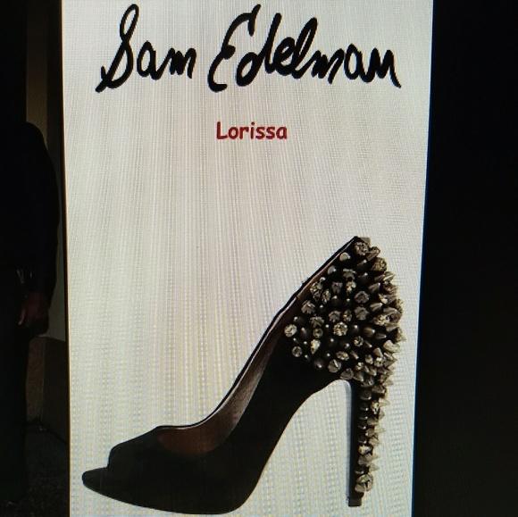 00158603517784 Sam Edelman Larissa studded open-toe stiletto 10. M 59bf05d8c6c795125209f0f5