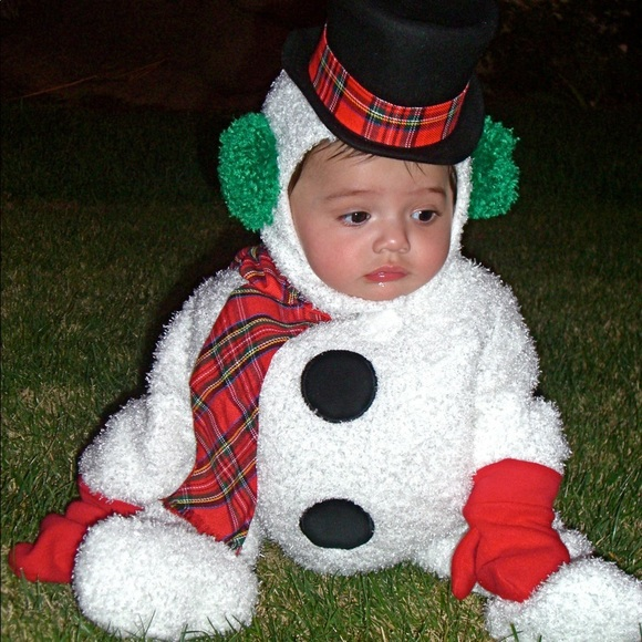 d01b449eeb7db 6-12 mos Tom Arma Frosty the Snowman baby costume
