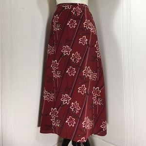 All Items 3for $15! Vintage 90s Floral Midi