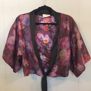 One & Only for Urban Outfitters, Cropped Kimono