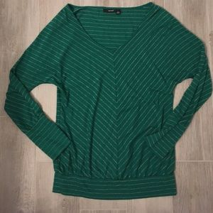 Green and Gold top