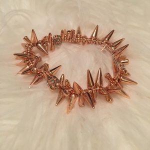 Rose gold renegade bracelet