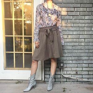 Fab🍂Banana Republic Tweed Circle Skirt Sz.6