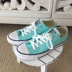 Tiffany Blue Converse Sneakers