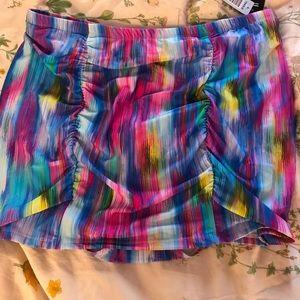 Other - Torrid Size 3 Endless Stripe Swim Skirt NWT
