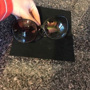 Juicy couture oversized glasses
