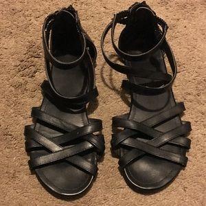 H&M black gladiator sandal