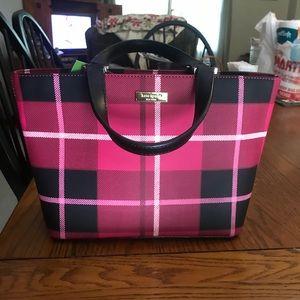 Kate Spade Plaid Grant Street Handbag
