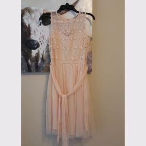 Pleasing As Punch Lace Dress