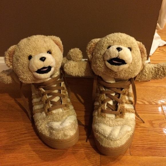brand new c22c9 c27cb Jeremy Scott x Adidas Other - Jeremy Scott Teddy Bear Adidas