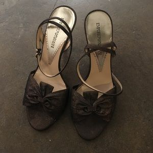 Emporio Armani Heels Size 38