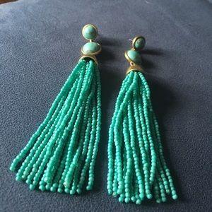 Beaded Lucky Brand Earrings