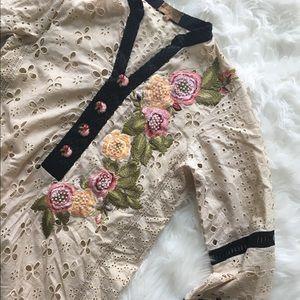Élan Vital Embroidered Dress