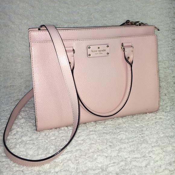 5b5d94849e3c46 kate spade Handbags - Kate Spade Durham Wellesley Posy Pink Spring Purse