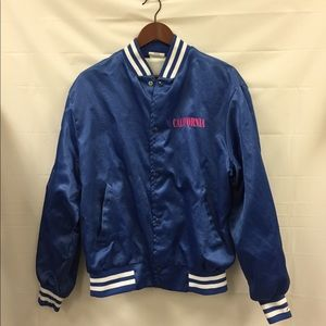 Jackets & Blazers - Vintage California palm trees bomber jacket large