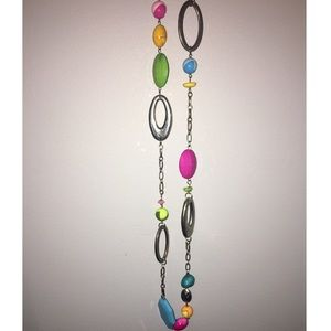Jewelry - Colorful long necklace
