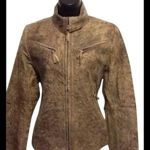 SOLD! Ann Demeulemeester Leather Moto Jacket