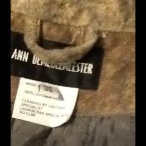 Ann Demeulemeester Jackets & Coats - Ann Demeulemeester Leather Moto Jacket