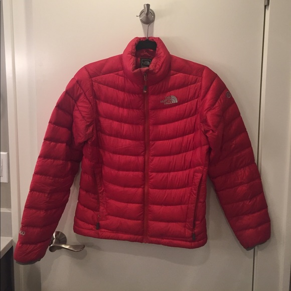 Red North Face Summit series 800 Fill Down Jacket.  M 59bf18c3f0137d8a270a4070 765ace291
