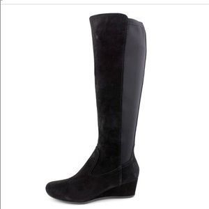 Rockport Total Motion tall suede boot