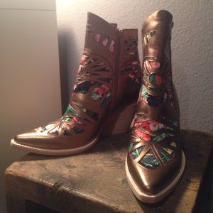 Free People+Jeffrey Campbell Wilshire Western Boot