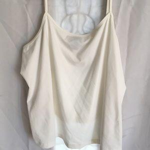 Lane Bryant white camisole