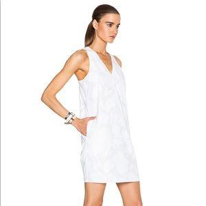 NWT rag & bone Augusta dress in bright white!!