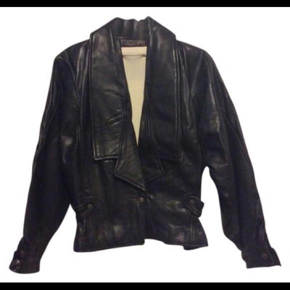 Fendi Jackets & Blazers - Fendi Vintage Leather Jacket